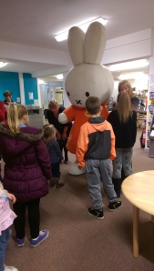 Miffy surrounded by her fans (big and small!)