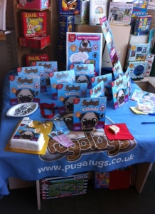 All the copies of Pugalugs waiting for new homes