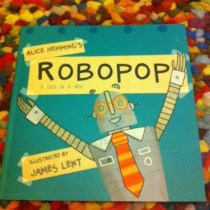 Robopop's front cover!