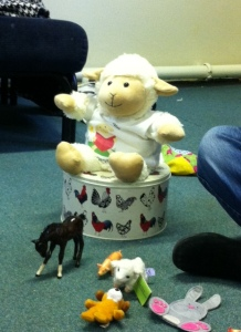 Lamby centre stage!