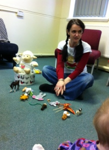Jude and Lamby telling us stories from China