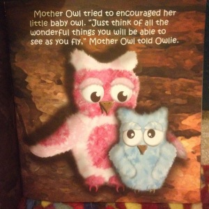 Mother Owl and Owlie