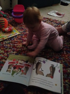 Reading on the move before bed!