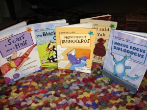 All the early years titles :)